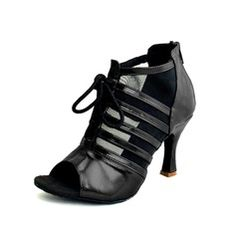 Dance Shoes - $37.99 - Women's Leatherette Heels Sandals Latin With Lace-up Dance Shoes  http://www.dressfirst.com/Women-S-Leatherette-Heels-Sandals-Latin-With-Lace-Up-Dance-Shoes-053055710-g55710