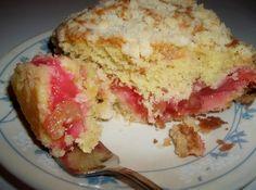 Rhubarb Coffee Cake - Scrumptious #rhubarb #coffee #justapinchrecipes Baking Recipes, Cake Recipes, Dessert Recipes, Desserts, Fruit Recipes, Dessert Ideas, Yummy Recipes, Rhubarb Coffee Cakes, Rhubarb Bread