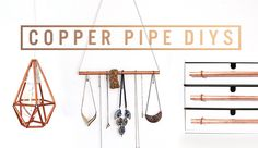 EASY COPPER PIPE DIYs + MEET-UP DEETS | THE SORRY GIRLS