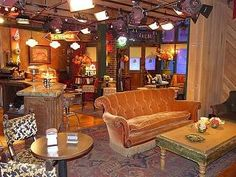 Warner Bros Studios to tours sets.  Mainly to sit in the couch that was used in FRIENDS!!