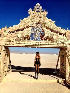 BURNING MAN - great entrance feature. If you have never been to Burning Man, GO…