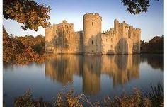 Beautiful Bodiam Castle, East Sussex.