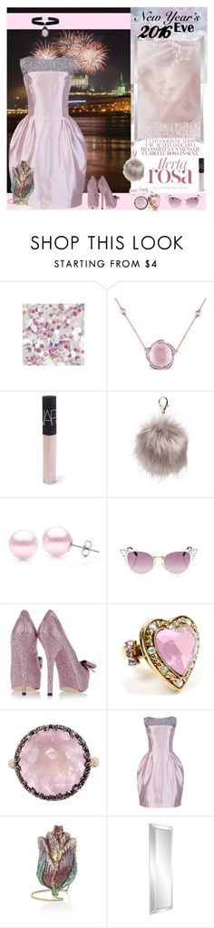"""""""NYE Dance Party"""" by yours-styling-best-friend ❤ liked on Polyvore featuring Miadora, NARS Cosmetics, Nila Anthony, Suzy Levian, Fendi, Dolce&Gabbana, Betsey Johnson, Mike Saatji, Judith Leiber and Rock 'N Rose"""
