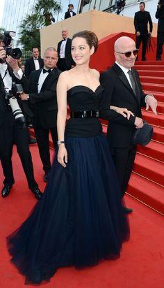 Marion Cotillard in Christian Dior - Cannes Film Festival 2012