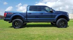 2016 Platinum Blue Jeans Metallic - Before and After photos - Ford F150 Forum - Community of Ford Truck Fans