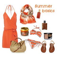 """""""Summer basics"""" by Coastal Style Blog"""