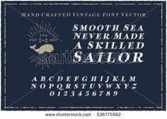 Image result for nautical font