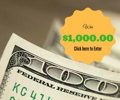 Win $1000 Cash {us} ends 2016-08-31 via http://ift.tt/2aGA8HU sweepstakes IFTTT reddit giveaways freebies contests