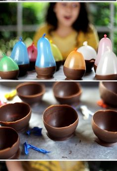 Does anyone else want to   try this as much as I do???   Well I did & it was   just too much fun...   enjoy!      Pudding Cups     Here's...
