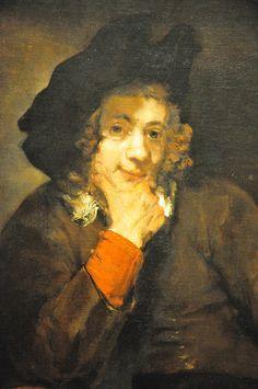 Rembrandt Van Rijn - Titus, the Artist's Son at Balitmore Art Museum Rembrandt Paintings, Dutch Golden Age, Dutch Painters, Dutch Artists, Renaissance Art, Art History, Art Museum, Les Oeuvres, Printmaking