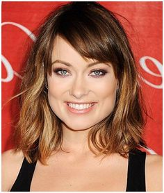 medium haircuts for women with square faces - Google Search