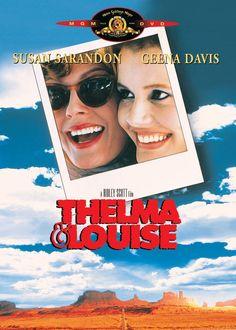 THELMA & LOUISE: Great drama with Susan Sarandon & Geena Davis #cinema #movie