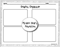 MY NEW YEAR'S 2014 RESOLUTION CRAFTIVITY - TeachersPayTeachers.com