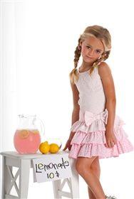 Biscotti - Drop Waist Dress in Pink
