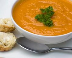 Butternut Squash Soup #recipe from French Women Don't Get Fat Cookbook #French