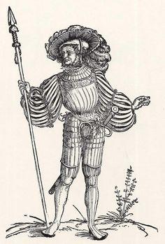 Landsknechtführer  (1532)