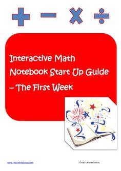 Interactive Math Notebook Set Up Guide