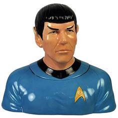 Star Trek Spock Cookie Jar - Westland Giftware - Star Trek - Cookie Jars at Entertainment Earth