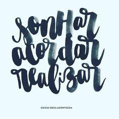 Se já acordou, é hora de realizar! Bom dia e uma ótima volta às atividades! Boa segunda!  #frescurasdatati #bomdia #boasegunda #realize #coisasboasacontecem