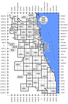 Maps Zip Code Map Chicago Blog With Collection Of Maps All - Chicago zip code map