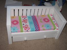 Doll Daybed with trundle   Do It Yourself Home Projects from Ana White