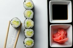 Avocado sushi - this is my favorite and it looks SO delicious!!