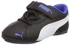 Puma Janine Dance 2 V Inf, Mädchen Sneakers, Schwarz (black-white-dazzling blue 04), 32 EU (13 Kinder UK) - http://on-line-kaufen.de/puma/32-eu-puma-janine-dance-2-v-inf-maedchen-sneakers
