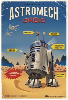 Astromech Droid ~Not Recommended for Dagobah System