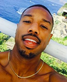 And lastly, Michael likes to sleep naked! 31 Things You Probably Never Knew About Michael B. Jordan Until Now Fine Black Men, Gorgeous Black Men, Handsome Black Men, Black Boys, Fine Men, Beautiful Men, Michael B. Jordan, Michael B Jordan Instagram, Big Sean