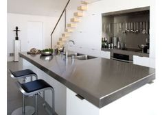 bar stools are perfect for countertops and island kitchens since they save more space compared to chairs.