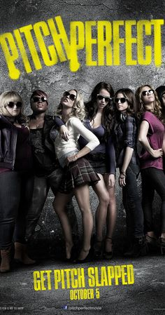 Directed by Jason Moore.  With Anna Kendrick, Brittany Snow, Rebel Wilson, Anna Camp. Beca, a freshman at Barden University, is cajoled into joining The Bellas, her school's all-girls singing group. Injecting some much needed energy into their repertoire, The Bellas take on their male rivals in a campus competition.