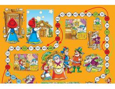 Printable Games: Little Red Riding Hood | KidsPressMagazine.com #games #kids #printable #DIY