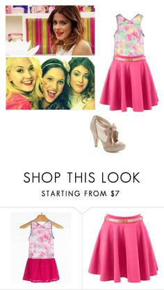 """vio"" by maria-look ❤ liked on Polyvore featuring Eyeshadow, women's clothing, women, female, woman, misses and juniors"