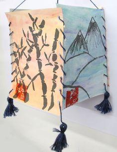 The Unquowa School | Sumi-e Lanterns