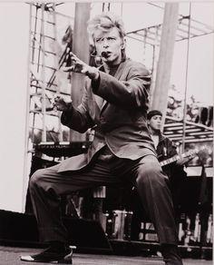 David Bowie en 1987.