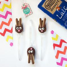 DIY tuto {Pâques} Les lapins en chocolats