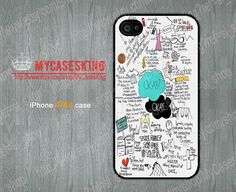 The Fault in Our Stars iPhone 4 case John Green iPhone 4s case Cover Skin Case iPhone 4 4g 4s Hard/Rubber Case-Choose Your Favourite Color by MyCasesKing, $6.99