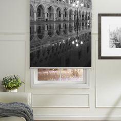 Reflection Printed Roller Blind  #rollerblinds #homedecor #interiordesign
