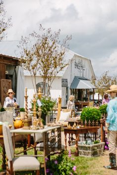 visiting Round Top, TX antique shows