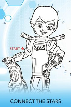 Connect the Stars | Miles from Tomorrowland Free Printables & crafts | SKGaleana