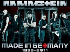 Rammstein playing Dublin, Ireland tonight 27th February, Made In Germany Tour.