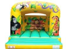 11x12 Jungle Bouncy Castle - Bouncy Castles - Bouncy Castle and Soft Play Hire in Essex,