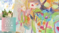 """Sharon Barr """"To me, these are visual poems"""" Toronto School Of Art, Abstract Oil, Botanical Art, Art School, Art History, Oil On Canvas, Poems, Make It Yourself, Creative"""
