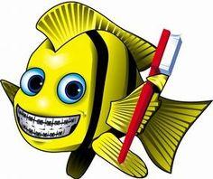 if only fish had teeth!