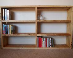 Reclaimed Scaffolding Board Bookcase
