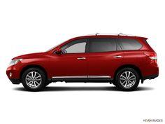 New 2013 Nissan Pathfinder SL (Red SUV) | Serving Carrollton, Richardson & Dallas Texas | AutoNation Nissan Dallas