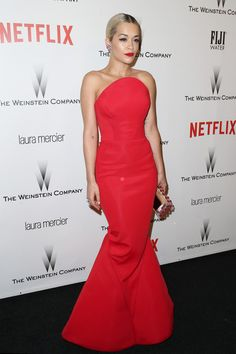 Look of the Day, January 12th: Rita Ora's Zac Posen Gown - The Best Celebrity Outfits of 2015 - StyleBistro