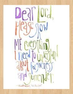 Eat Pray Love Quote Watercolor  Check out my Etsy if you're interested in purchasing a print for $10!