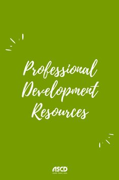 Professional Development Resources from ASCD Growth Mindset, Professional Development, Schools, Coaching, Classroom, Teacher, Education, Learning, Health