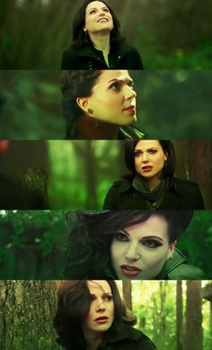 Awesome Regina/Evil Queen Regina in the awesome Enchanted Forest in Storybrooke Maine on Once